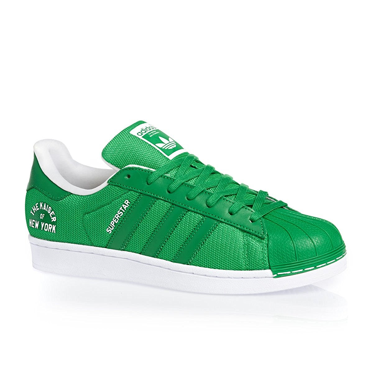 sale retailer d2547 69018 adidas Superstar Foundation (grün/weiß, Herren Sneaker) - sneak3rs.de