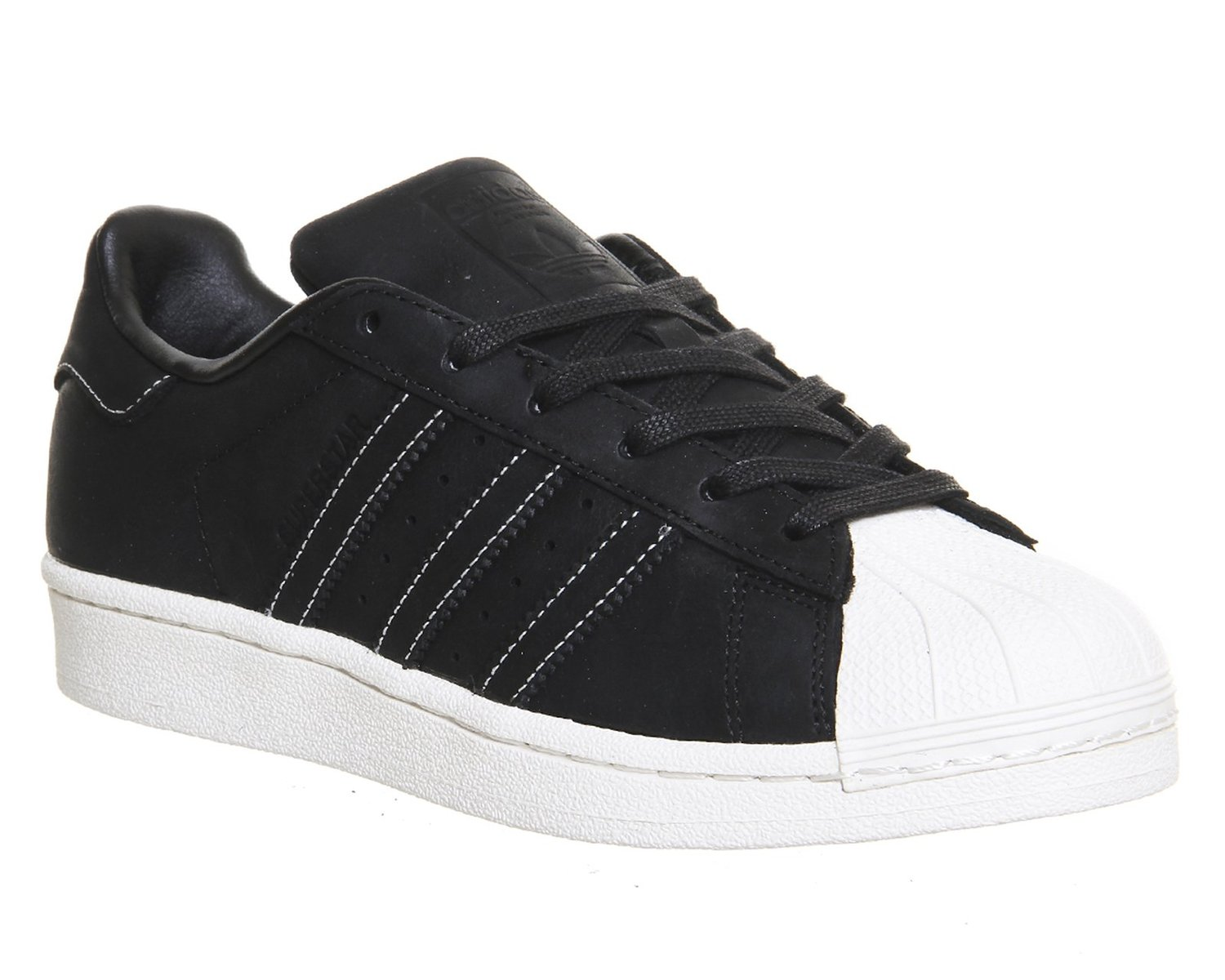adidas superstar foundation schwarz wei herren sneaker. Black Bedroom Furniture Sets. Home Design Ideas