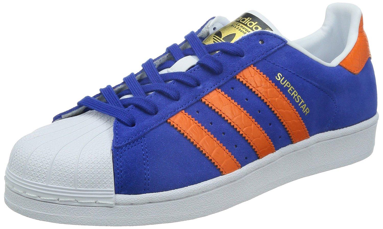 adidas superstar blau orange