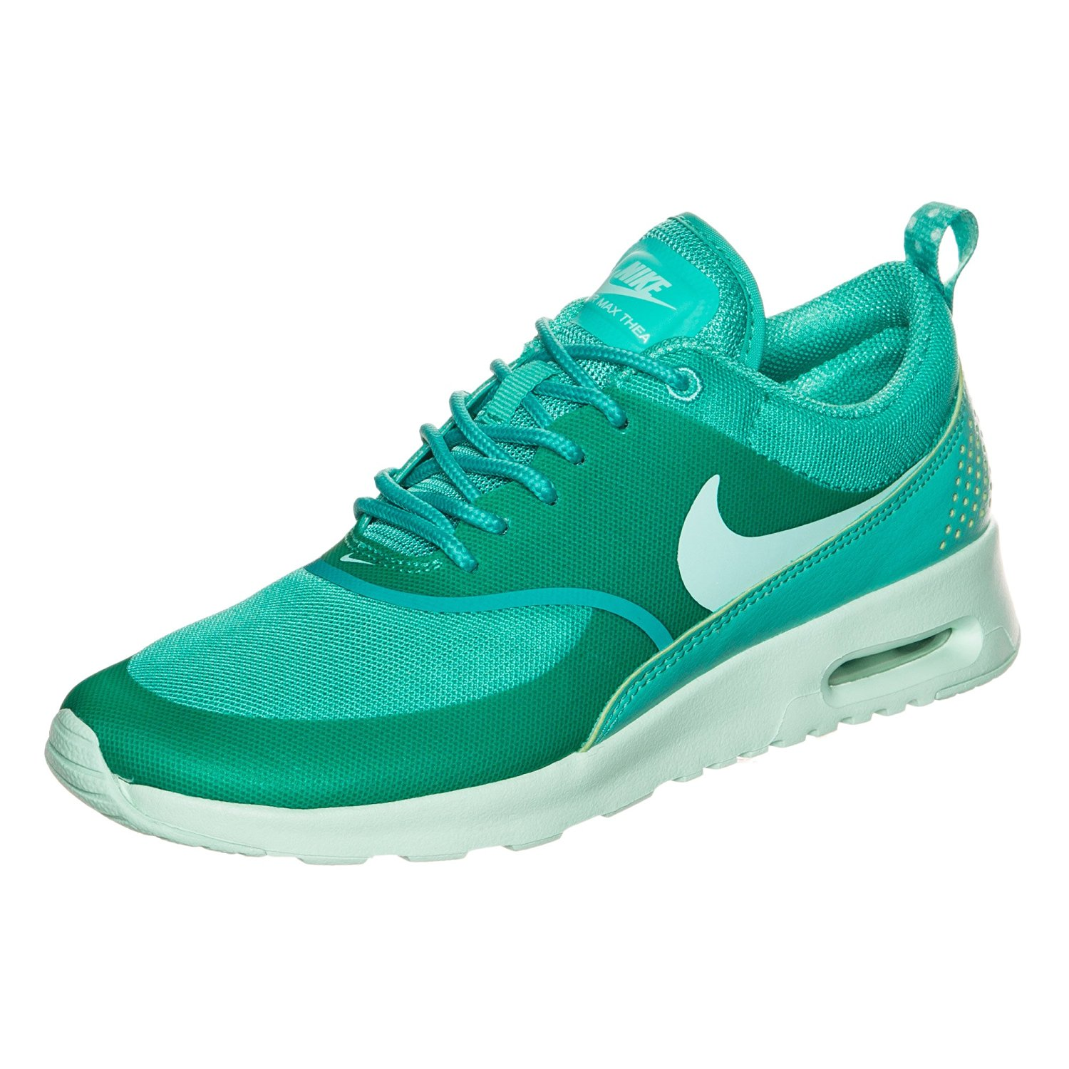 nike air max thea t rkis wei damen sneaker. Black Bedroom Furniture Sets. Home Design Ideas